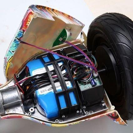 Гироскутер Smart Balance Оранжевый Хип-Хоп / Урбан 10,5 APP самобалансир (Samsung)